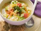 Rice and Vegetable Soup recipe