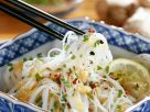 Rice Noodle Salad with Ginger Dressing recipe