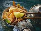 Rice Noodles with Prawns and Sprouts recipe
