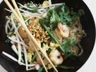 Rice Noodles with Shrimp recipe