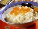 Rice Pudding with Mandarin and Lemon recipe