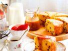 Ricotta Cake with Strawberries recipe