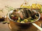 Roast Beef and Vegetables with Potatoes recipe