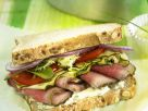 Roast Beef, Tomato, and Zucchini Sandwiches recipe