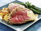 Roast Beef with Beans recipe