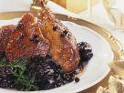 Roast Duck with Red Wine Prunes and Juniper Berries recipe