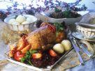 Roast Goose Dinner recipe