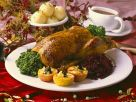 Roast Goose with Cabbage recipe