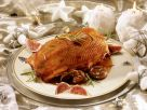Roast Goose with Chestnuts and Figs Stuffing recipe