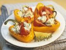 Roast Peppers with Soft Cheese recipe