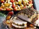 Roast Pork Loin with Herbs and Potatoes recipe