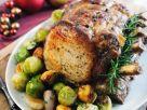 Roast Pork with Glazed Chestnuts recipe