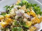 Roast Pumpkin, Chickpea and Rocket Salad recipe