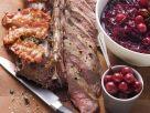 Roast Saddle of Venison with Bacon recipe