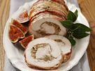 Roast Turkey Roulade with Nuts and Figs recipe