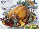 Roast Turkey with Cranberries, Oranges and Sage recipe