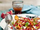 Roasted Butternut Squash and Pomegranate Salad recipe