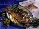 Roasted Fish Marinated in Lemon, Garlic and Herbs recipe