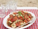 Roasted Pepper and Chicken Salad recipe