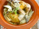 Roasted Pheasant with Pear Sauce recipe