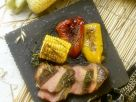 Roasted Vegetables with Beef Fillets recipe
