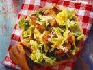 Romaine Caesar Salad with Baguette Croutons recipe