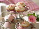Rose Muffins with Apple Compote recipe