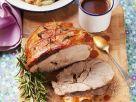 Roast Lamb with Garbanzos recipe