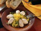 Saffron Cabbage with Creamy Salmon Mousse recipe