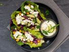 Salad Boats with Chickpeas and Tzatziki recipe