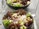 Salad with Bacon and Cheese recipe