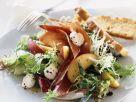 Salad with Buffalo Mozzarella, Prosciutto, and Nectarines recipe