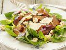 Salad with Cremini Mushrooms and Chestnuts recipe
