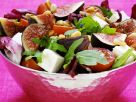 Salad with Figs, Feta, Tomatoes and Pine Nuts recipe