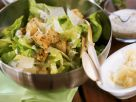 Salad with Parmesan and Croutons recipe