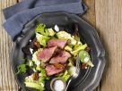 Salad with Roast Beef and Pecans recipe