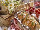 Salmon and Cheese Stuffed Bread recipe