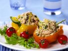 Salmon and Rice-stuffed Peppers recipe