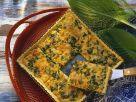 Salmon and Scallion Quiche recipe