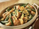 Salmon, Asparagus and Potatoes in Creamy Dill Sauce recipe