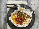 Salmon Fillet in Foil with Tomatoes recipe