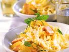 Salmon in Lemon Sauce with Pasta recipe