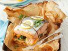 Salmon Stack In Parchment recipe