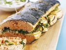 Salmon with Lemon Herb Stuffing recipe