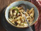 Salsify with Morel Sauce recipe