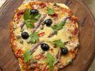 Sardine and Olive Flatbread recipe