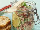 Sausage Salad with Tomato and Cucumber recipe