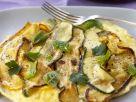 Sauteed Courgette Omelette recipe