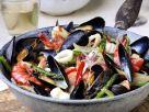 Sautéed Seafood with Asparagus recipe