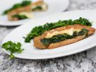 Sautéed Spinach-Stuffed Seitan recipe